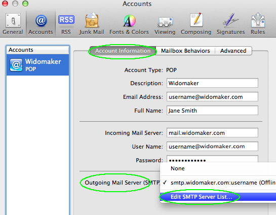 Mac-Mail-Edit-SMTP-List