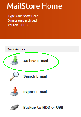 MailStoreHome-Click-Archive