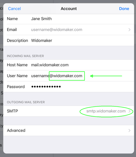 iOS-Account-Settings
